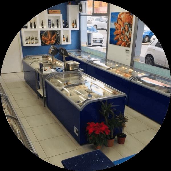 Punto vendita Sicilia Surgelati - via Campisi
