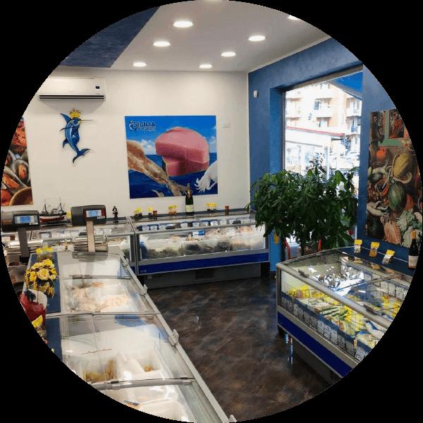 Punto vendita Sicilia Surgelati - via Portella della Ginestra